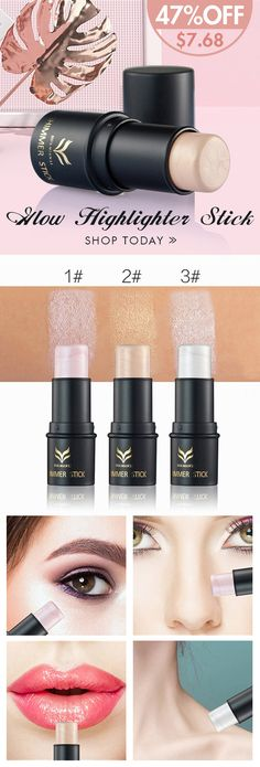 [Newchic Online Shopping] 47%OFF HUAMIANLI Glow Highlighter Stick