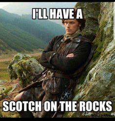 No, this is a SCOT on the rocks, and I want a takeaway please!