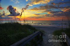 Joy Comes In The Morning Sunrise Carolina Beach NC  Prints available from $17  #FineArt #Architecture #Landscape #Photography #InteriorDesign #CityScape #Office #Home  #Inspiration #Nature