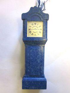 BOURJOIS ~Soir de Paris perfume bottle in a bakelite clock case
