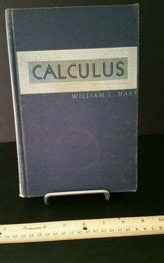 Calculus 1955 Vintage Old Math Book textbook