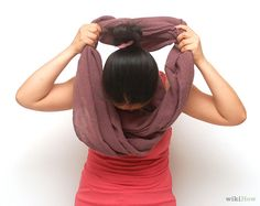 You can learn to wear INFINITY scarf Seven Says. Give it a try and see how well you did. Order Infinity Scarf online. www.myownfashioncloset.com