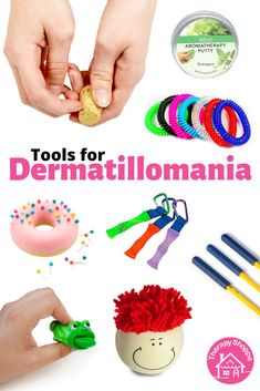 Fidget Tools for Dermatillomania/Skin Pickers Fidget Tools, Cool Fidget Toys, Cool Toys, Excoriation Disorder, Crafts To Do, Crafts For Kids, Skin Picking Disorder, School Age Activities, Tools And Toys