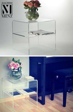 eastwood acryl tv konsole m bel mal anders transparent. Black Bedroom Furniture Sets. Home Design Ideas