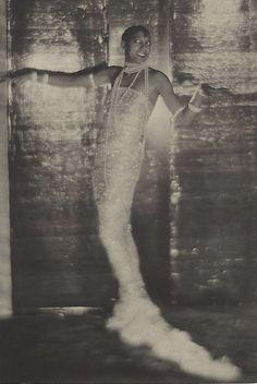 Miss Josephine Baker, circa 1925, by Baron Adolph de Meyer