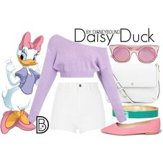 Disney Bound - Daisy Duck