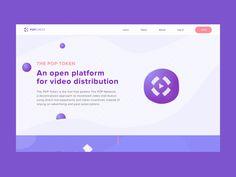 Popchest Homepage Animation