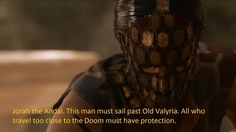 """And talking of predictions, you almost certainly don't remember this line from Season 2. Three seasons before it happened. 