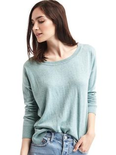 Style meets cozy comfort in these chic sweaters for women from Gap. Find women's sweaters from cardigans to pullovers in a range of colors and soft fabrics. Spring Maternity, Baby Kids Clothes, Comfortable Outfits, Pullover Sweaters, Sweaters For Women, My Style, Shirts, Drop, Fall