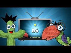 Tv da Turminha - As notas musicais ( episódio #2) clipe infantil