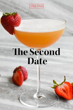 This #cocktail uses fresh #strawberries for a bright, clean taste. It's deliciously balanced, and an effervescent #Champagne float really brings out the beautiful aromatics. It's the perfect drink to make for that special someone you want to #impress. Cocktail Book, Champagne Cocktail, Cocktail Glass, Wine Cocktails, Cocktail Recipes, Date Recipes, Strawberries, Iris, Beverages