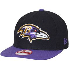 Baltimore Ravens New Era Southside Snap Original Fit 9FIFTY Adjustable Snapback  Hat - Black -  31.99 2becb347365