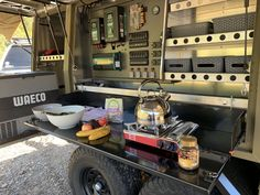 R.A.S.V. Off Road Camper Trailer - Off Road Designs Work Trailer, Off Road Camper Trailer, Trailer Build, Camper Trailers, Campers, Top Tents, Roof Top Tent, Heavy Duty Door Hinges, Adventure Trailers