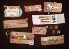 Cardboard UI - Kim Taylor
