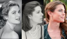Mother, daughter and niece. Actress and Princess Grace, Princess Caroline, Charlotte Casiraghi..Three great Beauties but no question there is just one  Queen, a real Goddess the one and only Grace Kelly of Monaco.