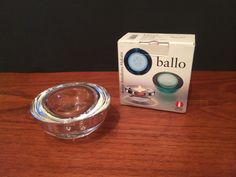 Ballo Tealight Candle Holder Clear
