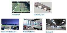 Amplia gama de oferta en productos led, equipamiento deportivo,vial,obra civil, hoteles y estaciones de servicio. Visitanos en  www.disiled.es