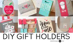 DIY Gift Holders Video by Jennifer McGuire Ink