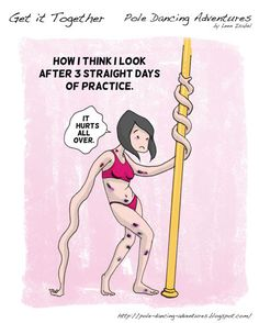 12. You accept that bruises become a way of life. | Community Post: 15 Truths About Pole Dancing