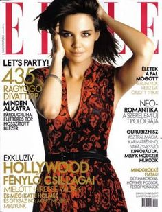 Katie Holmes - Elle Magazine [Hungary] (December 2009) Elle Magazine, Magazine Covers, Prada Dress, Princess Caroline, Katie Holmes, Cover Photos, Star Fashion, Formal Dresses, Celebrities