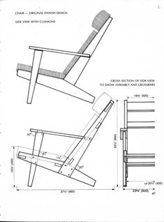 Woodtools – Книги – Making Mechanical Mavels in Wood – Armchair Ideas Deck Furniture, Wooden Furniture, Furniture Projects, Furniture Making, Furniture Design, Easy Woodworking Projects, Diy Wood Projects, Woodworking Plans, Patterned Chair