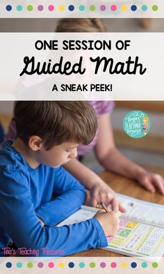 Take a sneak peek into my classroom for one session of guided math.  See how I prepare, instruct, and follow up on a lesson.  Guided Math can easily be done in 20 minutes a day!