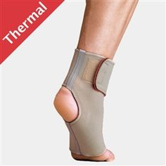 Thermoskin Arthritic Ankle Wrap may be useful in the treatment of tears in the ATFL and CFL and also assist in providing temporary relief of pain caused by arthritis in the ankle.