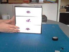 Comment réaliser une commode avec des boites beauté ? - YouTube