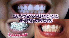 COMO CLAREAR OS DENTES EM CASA, DE MANEIRA INUSITADA! RECEITA CASEIRA