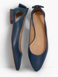 Edison Tasseled Flats-Soft Leather