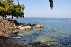 Learn about the small beaches of Hersonissos, located west of the town, Heraklion, Crete, Greece