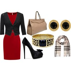 Red, Black and Burberry