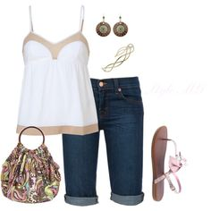 Summer cool, created by romigr99 on Polyvore   outfit