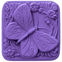 Square Butterfly Mold | Bramble Berry® Soap Making Supplies
