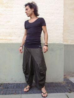 Black Stretch Samurai Pants Samurai Pants Also Called