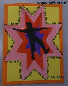 verjaardagskalender ster2 Preschool Body Theme, Birthday Calender, Sun Shadow, Art N Craft, Hero Arts, Art Fair, Primary School, Art School, Happy Birthday