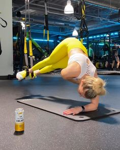 Trx Full Body Workout, Emom Workout, Abs Workout Routines, Plank Workout, Fitness Workouts, Butt Workout, Workout Videos, Suspension Workout, Suspension Training