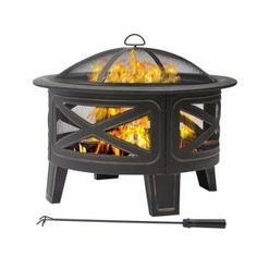 30 in. Crossfire Fire Pit-FT-51174 at The Home Depot
