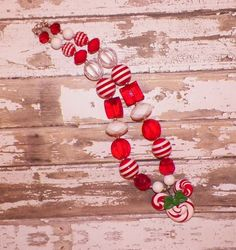 Custom Boutique Minnie Mouse Christmas by StinkyPinkCreations, $20.00