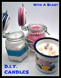Easy DIY Candles