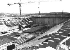 1993 Construcció pavelló de Fontajau CDRI  f Jordi Picazo