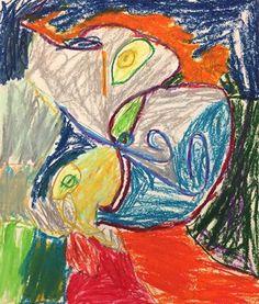 Picasso Portrait - 3rd Grade Joshua17561's art on Artsonia