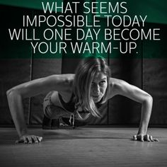 Nothing Is Impossible - Fitspiration - Motivational Quotes from Top Personal Trainers - Shape Magazine