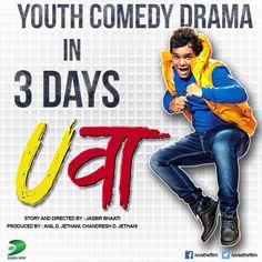 3 DAY TO GO.. Watch U.P ka Salman Khan only in  UVAA The Film in three days.. #MohitBaghel #Releasing on 26th June  #DhanrajFilms #VandeMataram #IshqPhobia #JiyoLalla #Natni Team #UVAA #NewHindiSong #RomanticSong #Uvaathefilm #Yuva #NewSongIn2015