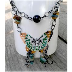 Soda Can Necklace - Starbucks  Might be easy enuf to DIY