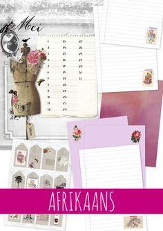 Idees Tydskrif   Mei 2015 – Ideas/Idees May, Printables, Ideas Magazine, My Style, Scrapbooking, Parties, Stickers, Pretty, Products