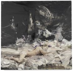 Cecily Brown, Black Painting No. 6