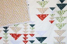 Heading South Quilt by Material Girl Quilts – A Flying Geese Quilt – The Willow Market