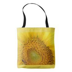 Sunflower Photo Tote Bag - photography gifts diy custom unique special