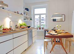 Comedores de cocina | La Garbatella: blog de decoración de estilo nórdico, DIY, diseño y cosas bonitas.